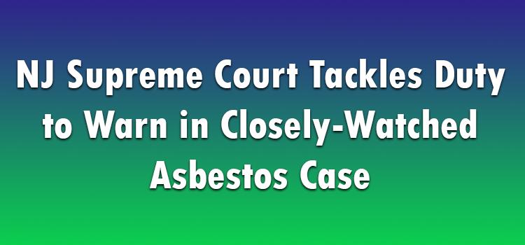 Asbestos Case