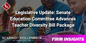 Legislative Update: Senate Education Committee Advances Teacher Diversity Bill Package