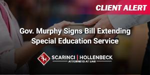 Gov. Murphy Signs Bill Extending Special Education Service